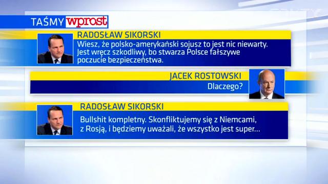 Откровения Сикорского об Америке заставили краснеть всю Польшу — ИноТВ