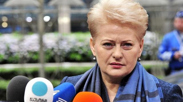 Президент Литвы «объявила войну» России от имени всей Европы