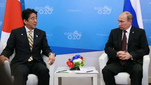 В Японии ломают голову, как завлечь Путина на переговоры по Курилам