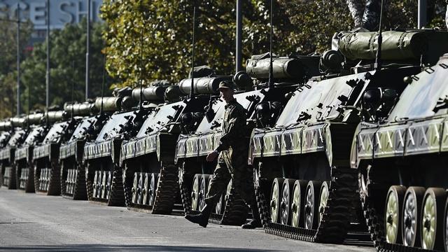 FAZ: В честь Путина по Белграду проедут танки
