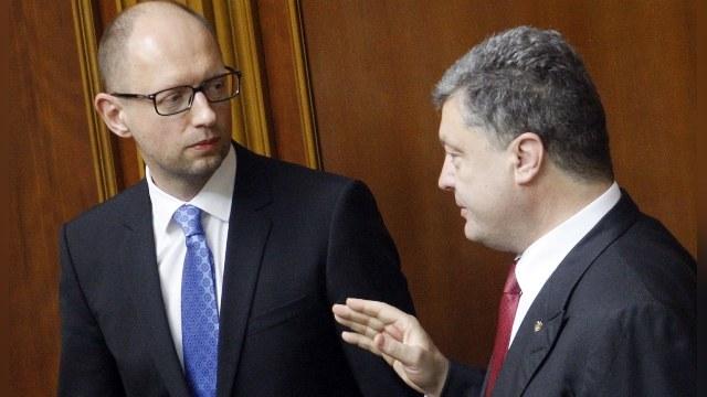 La Stampa: После выборов Яценюк и Порошенко потянут одеяло каждый на себя