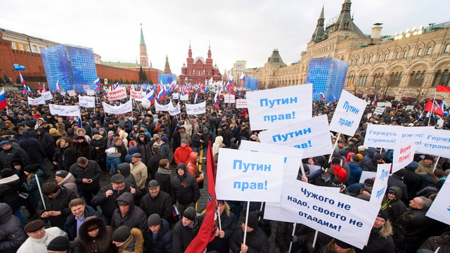 Французский историк: Путин во всем прав, а Крым ему можно простить