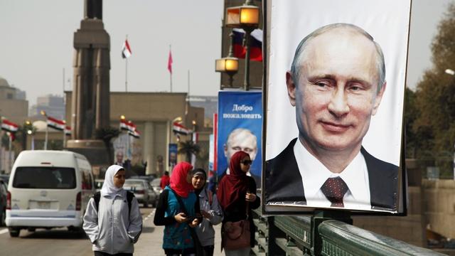 Washington Post: В Египте Путина чествовали как героя