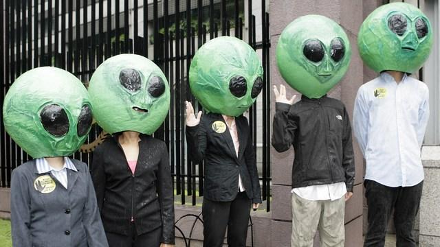 Британский политик: Захватывать Украину Путину помогают пришельцы