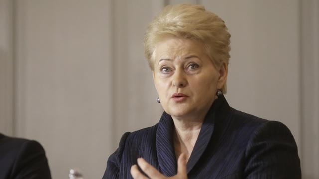 DELFI: Для президента Литвы «российская угроза» стала реальностью