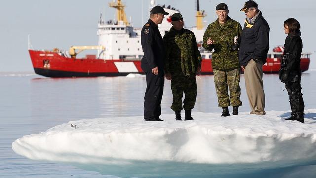 Армия Канады докажет свою боеспособность во время учений в Арктике