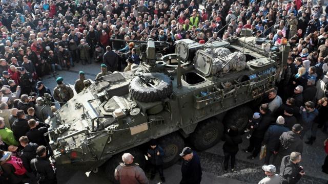 Daily Mail: Поляки встретили американских солдат как героев Второй мировой