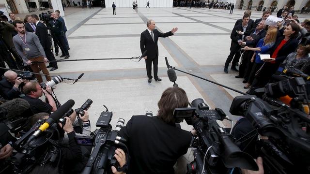 Реакция западной аудитории на «прямую линию» с Владимиром Путиным