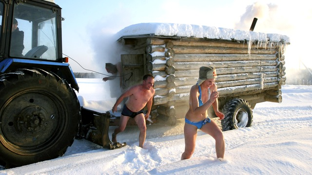 Duowei News: Для иностранца русская баня как камера «пыток»