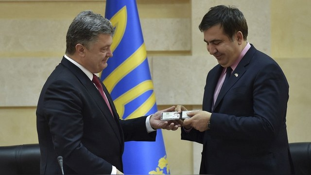 Bloomberg: Саакашвили – последний шанс для Порошенко провести реформы