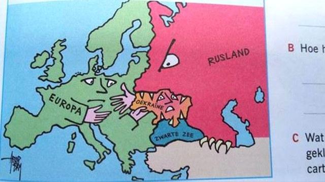 Голландские учебники показывают агрессивную Россию.