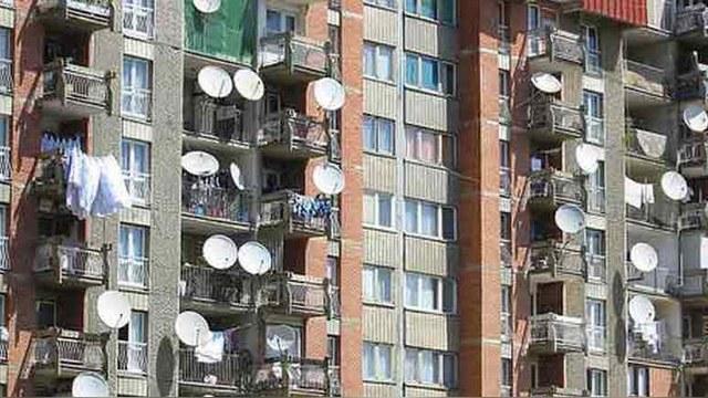 Украинцам спилят антенны за просмотр российских каналов