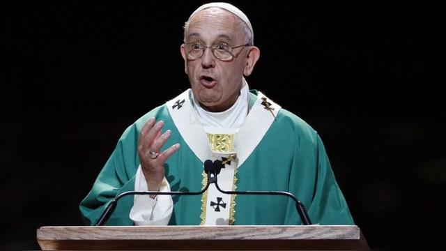 Le Monde: Папа Римский преподал неожиданный урок морали в ООН — ИноТВ