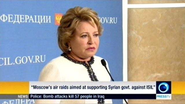 Матвиенко: В наземных операциях в Сирии Россия участвовать не будет