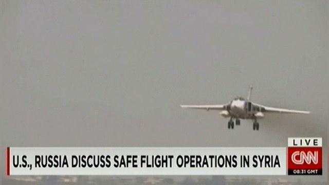CNN: Американским самолетам запретили приближаться к российским — ИноТВ