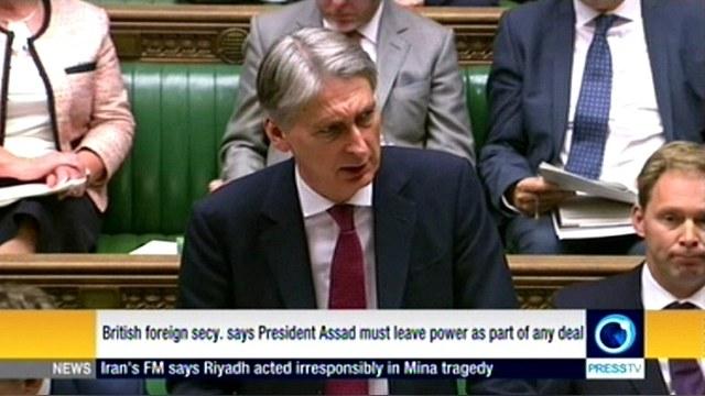 Глава МИД Британии: Любое соглашение по Сирии должно включать уход Асада — ИноТВ