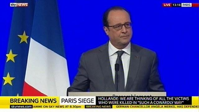 Олланд: Чтобы победить ИГ, нужна «широкая коалиция» с Россией — ИноТВ