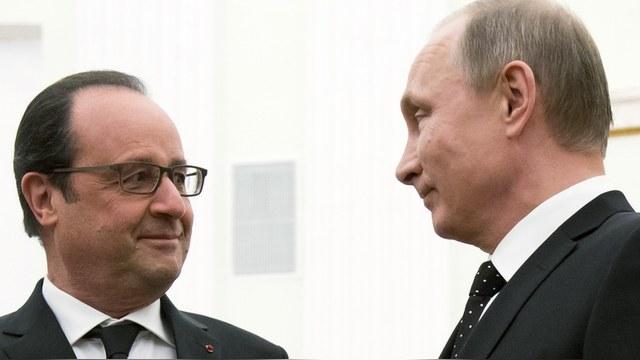 Le Point: Борьба с ИГ превратила Путина в нового лучшего друга Франции