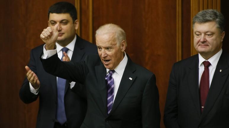 джо байден предложил поделить украину штаты