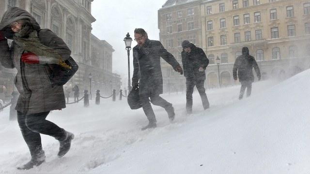 Aftonbladet: В Швеции ударили «путинские морозы»