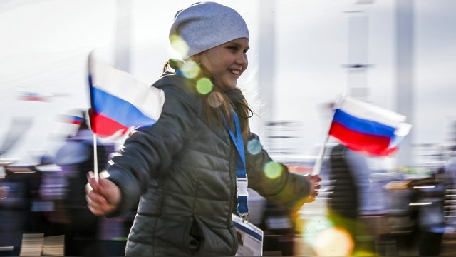 Euronews: Счастливых в России становится все больше