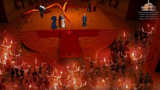 Newsweek: В мультфильме РПЦ изгоняет НАТО и «сатанинские» западные ценности