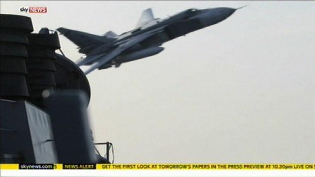 Sky News о маневрах Су-24: НАТО давно не видело такой агрессии  — ИноТВ