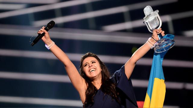 Вести: Украинские националисты возмущены победой Джамалы
