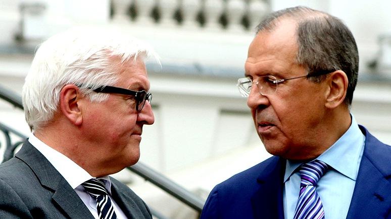 Süddeutsche Zeitung: На переговорах в России Штайнмайер потерпел фиаско