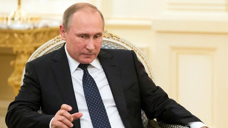Британский таблоид подсчитал «тайные богатства» Путина