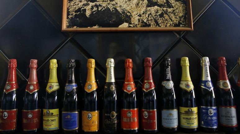 Guardian: Санкции «воскресили» крымское шампанское