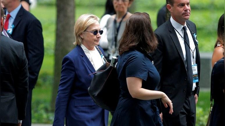 Washington Post: Версия отравления Клинтон наводит на мысли о Путине