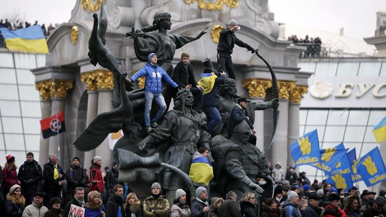 Украинский писатель: «Народ уже давно наплевал на ценности Майдана»