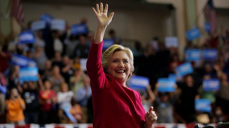WT: За кресло президента Клинтон, похоже, борется с...