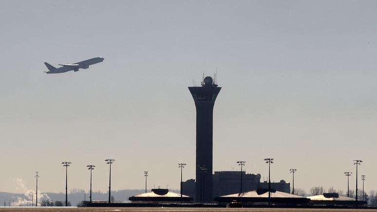 Русский самолет-разведчик заставил аэропорт «Шарль-де-Голль» замереть