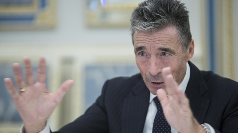 Расмуссен предложилЕС продлевать санкции против РФ нагод