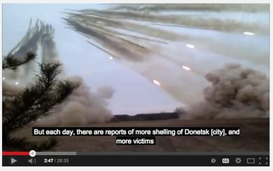 Украинские вооруженные силы ведут артобстрел Донецка