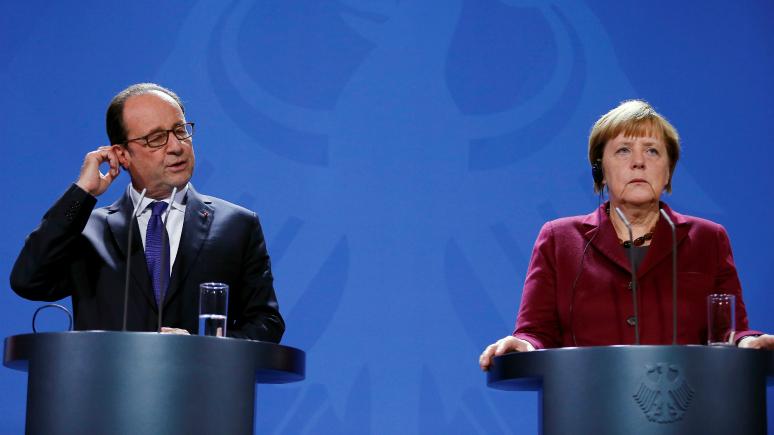 Le Monde: Меркель и Олланд признали, что им нечем давить на Россию