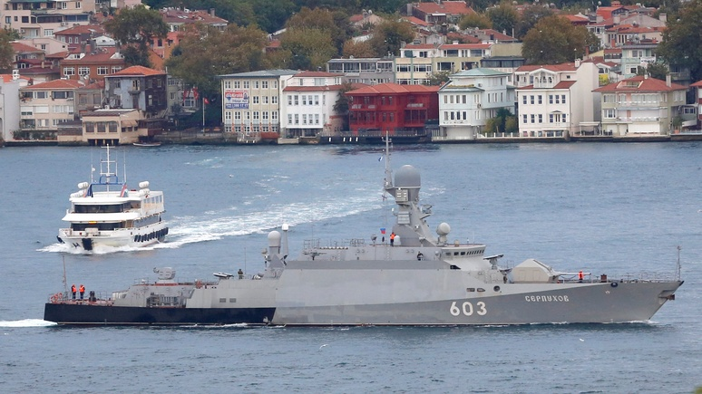 Times: Россия «по-тихому» продвинула военные корабли в Балтийское море