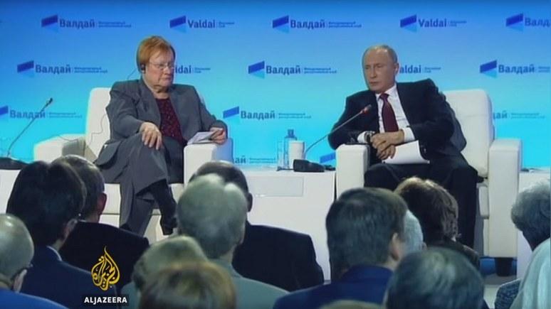 Al Jazeera: Послушать о проблемном Западе собрались не только «апологеты» Путина