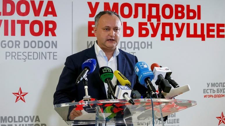 Le Monde: Лидер президентской гонки в Молдавии стремится подражать Путину