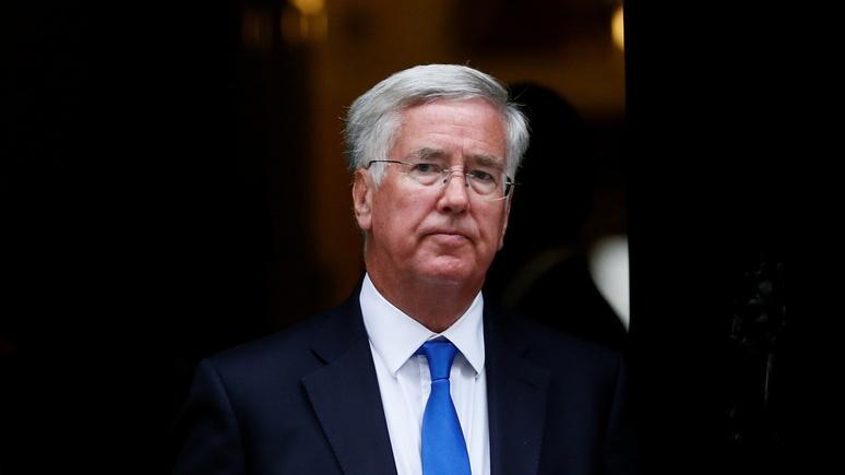 Британский министр обороны поведал овероятной войне сРоссией