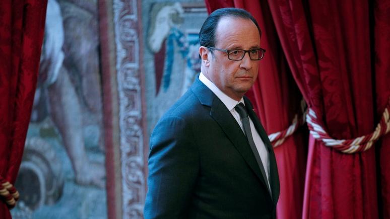 Советники Олланда, уверенные впобеде Клинтон, преждевременно поздравили ее