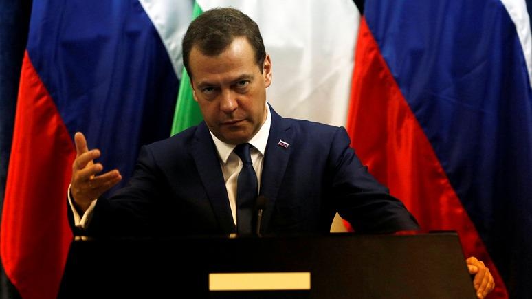 Премьеру РФвИзраиле подарили дрон без пульта— Подарок Медведеву