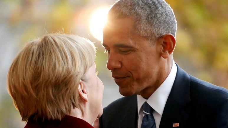 Bild: «Чудесной подруге» Обамы теперь самой решать, как быть с Трампом и Путиным