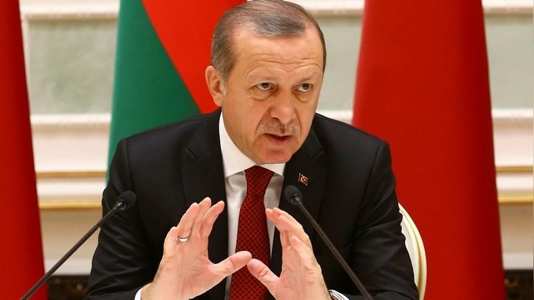 Эрдоган объявил, что обсуждает вступление Турции вШОС как альтернативу EC