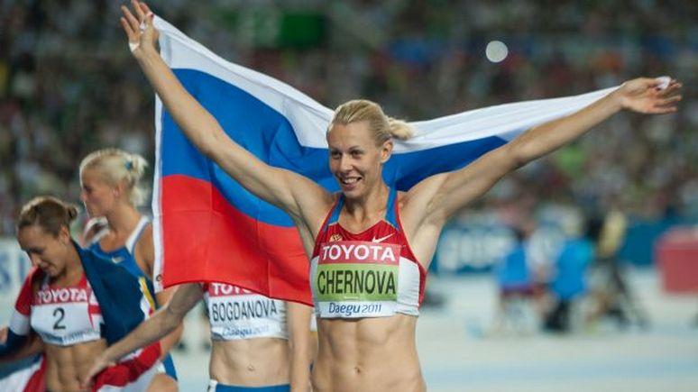 Краснодарская легкоатлетка Чернова дисквалифицирована илишена «золота» ЧМ-2011 и«бронзы» ОИ