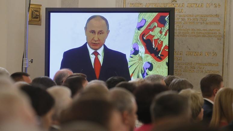 Welt: «Примирительная риторика» Путина — это не всерьез