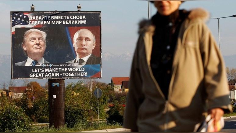 Guardian: Настоящим человеком 2016 года стал не Трамп, а «диктатор» Путин