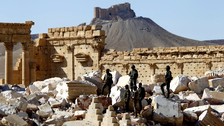 Telepolis: Пальмира пала во имя стратегических интересов Вашингтона